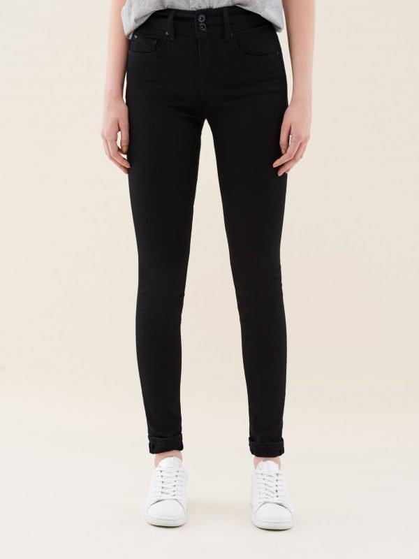 "Salsa Black Skinny Jeans Length 32"""