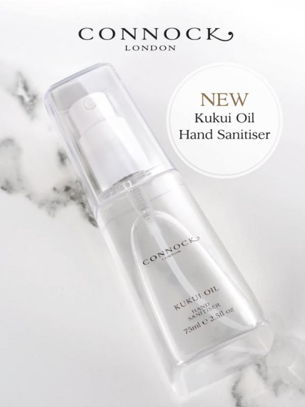 Connock London Kukri Oil Hand Sanitiser
