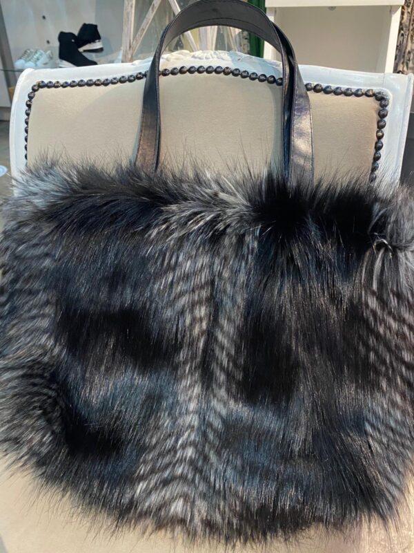 Helen Moore Kersey Bag In Black Quail