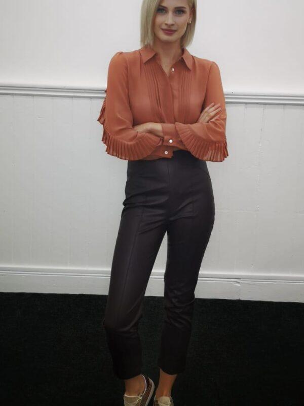 i Blues Losanna Orange Shirt