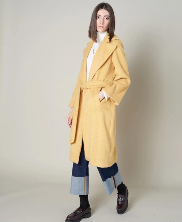 Silvian Heach Long Teddy Coat