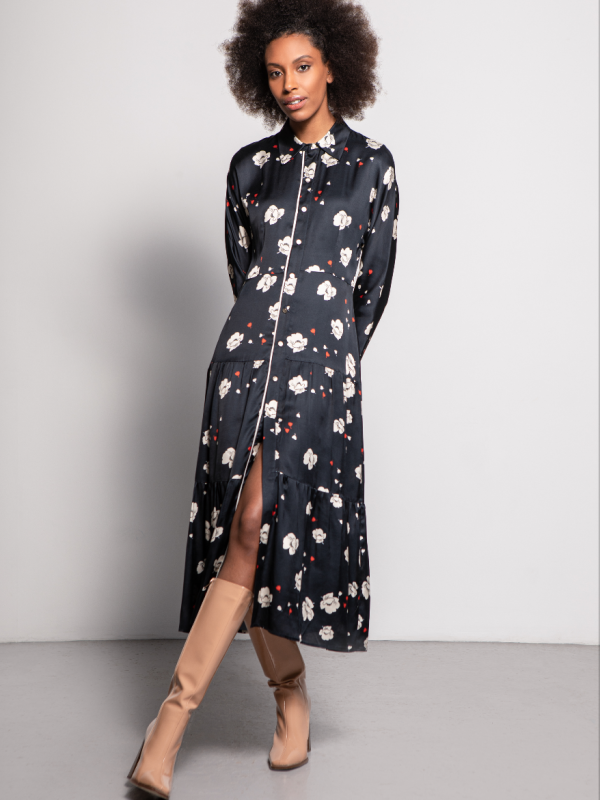 Caroline Kilkenny Sister's Johnny Flower Print Dress