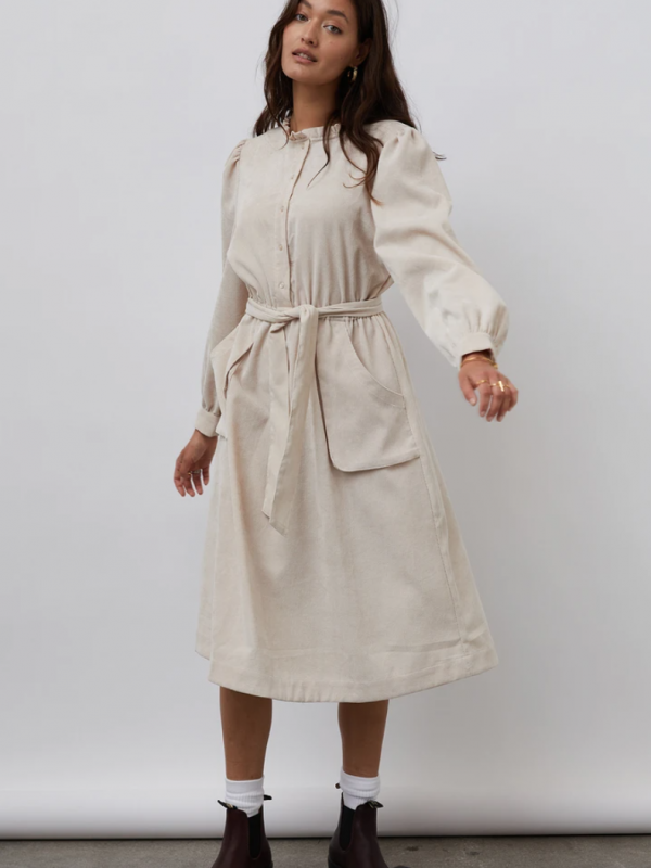Lolly's Laundry Karlo Dress Creme