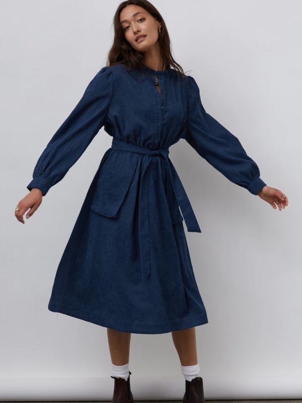 Lolly's Laundry Karlo Dress Navy