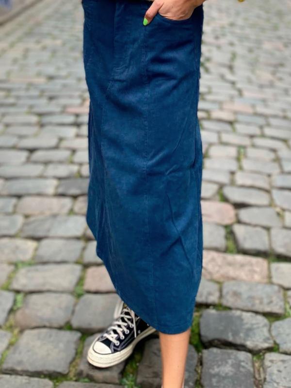 Lolly's Laundry Melina Skirt Dark Blue