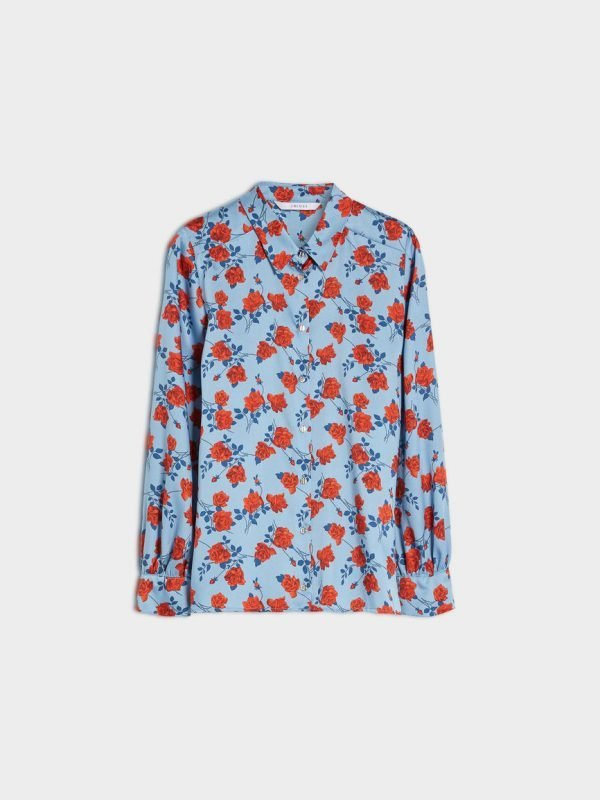 i Blues Stampa Floral Blouse
