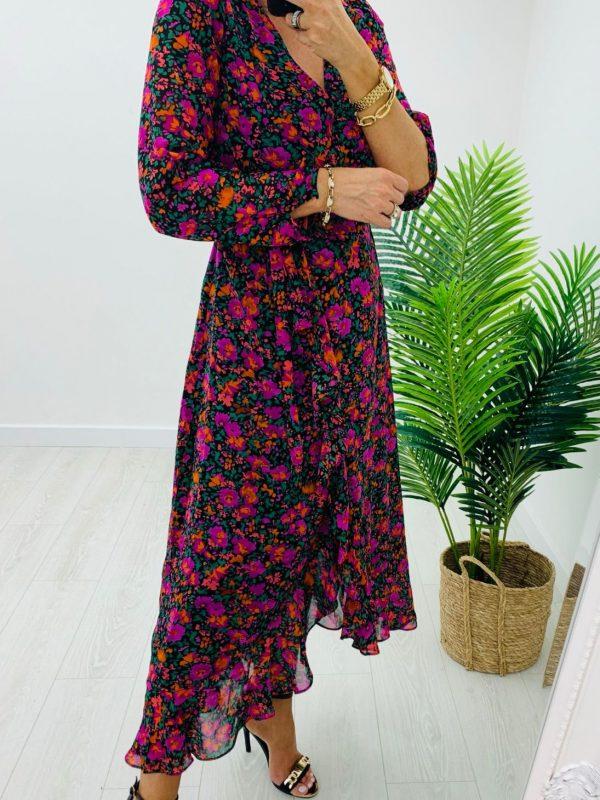 Kyla Autumn Floral Dress