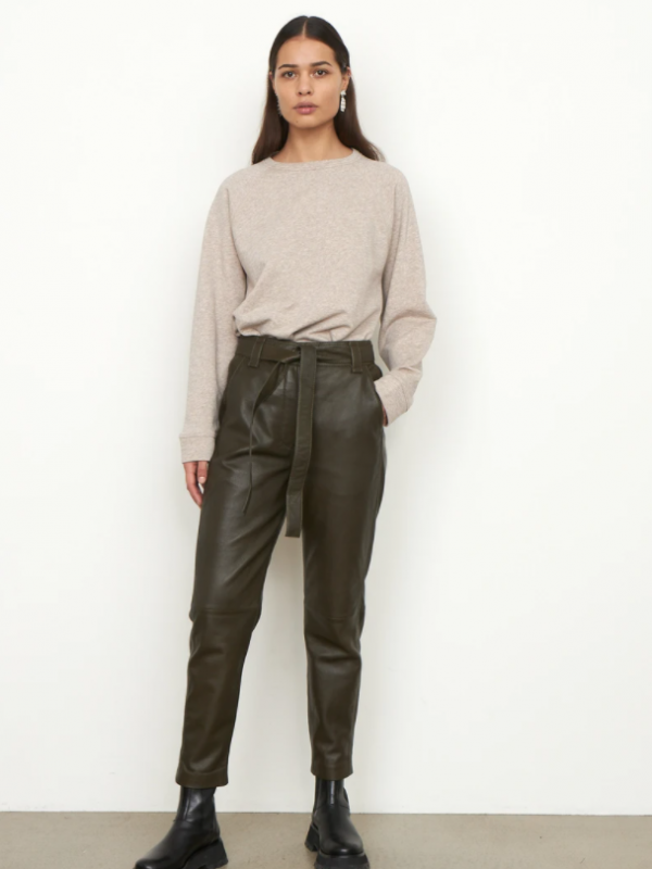 Second Female Indie Leather Trousers