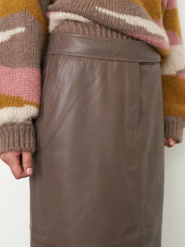 Second Female Francie Leather Skirt