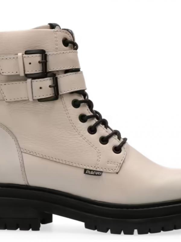 Maruti Leather Bratt Boots