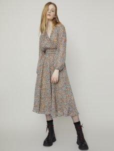 i Blues Fiocchi Printed Dress