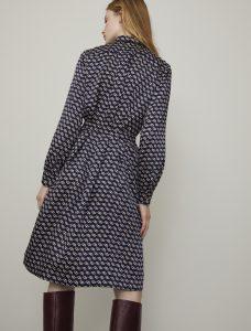 i Blues Idro Printed Shirt Dress