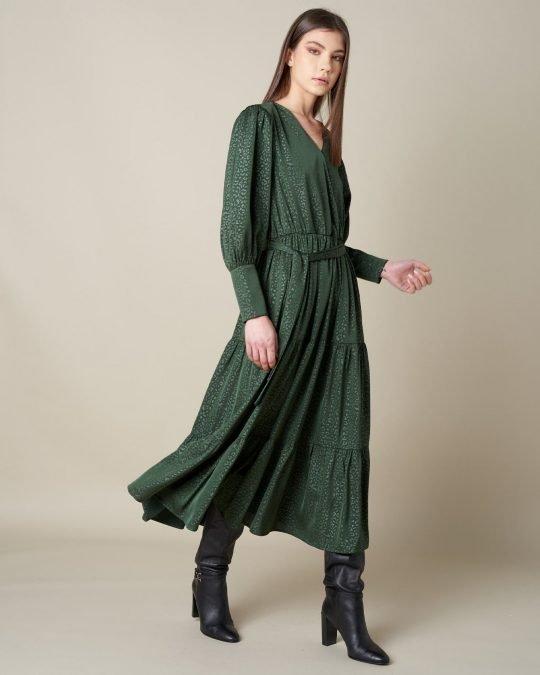 Silvian Heach Xiator Grenn Dress