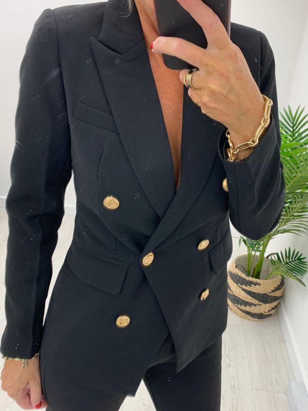 Kyla Short Black Blazer