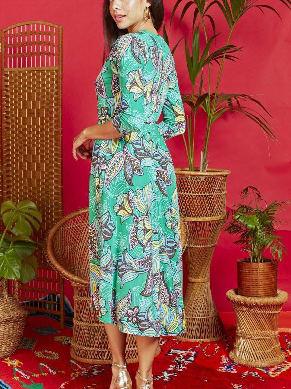 Onjenu Amy Portia Green Dress