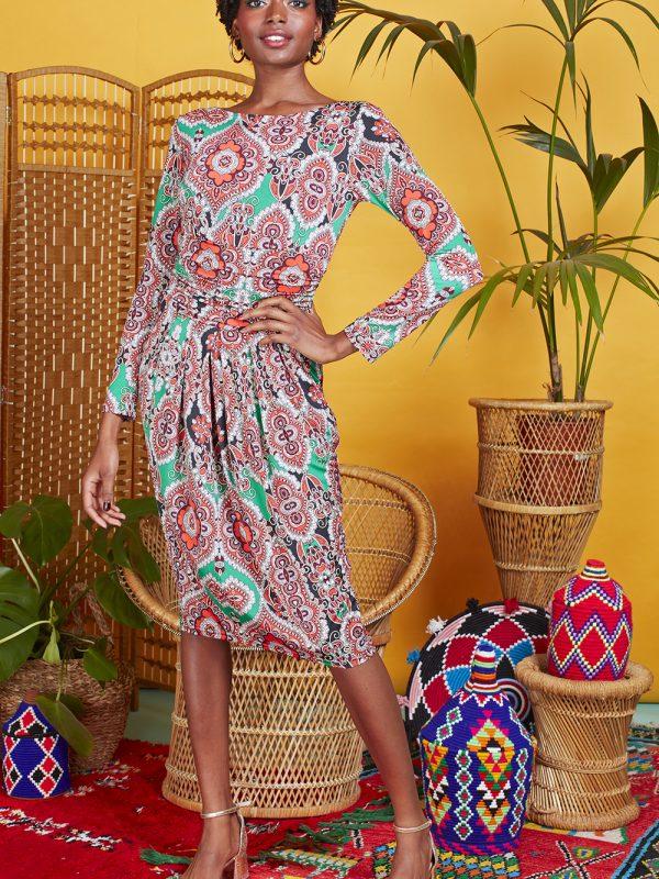 Onjenu Sydney Rhea Green Dress