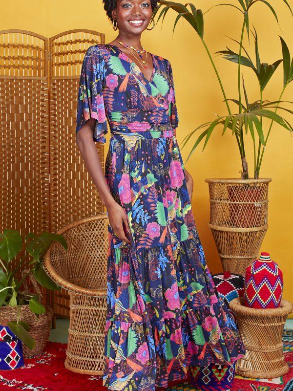 Onjenu Tilly Frida Print Dress