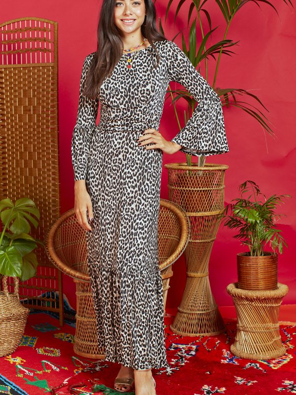 Onjenu Yana Leopard Dress